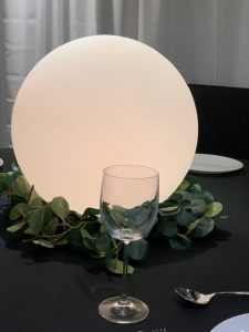 40cm diameter battery operated LED Sphere globe